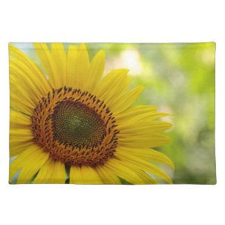Sunflower photograph place mat