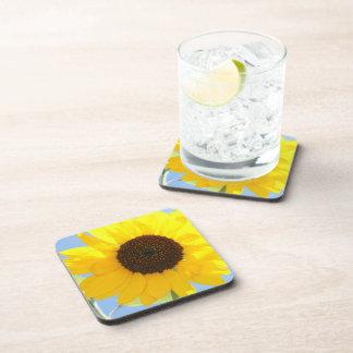 Sunflower Picture  Cork Coasters