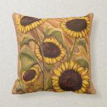 Sunflower Pillows Sunny Sunflower Pillows & Decor