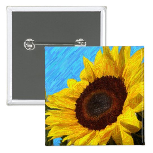 Sunflower Pin