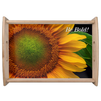 Sunflower Serving Trays