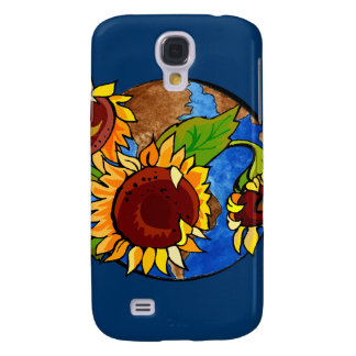 Sunflower Planet Galaxy S4 Cover