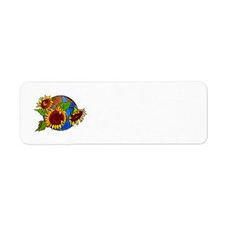 Sunflower Planet Label