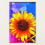"Sunflower Planner<br><div class=""desc"">This planner has a sunflower pictured on it.</div>"