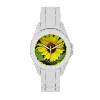 Sunflower Plant Wrist Watches