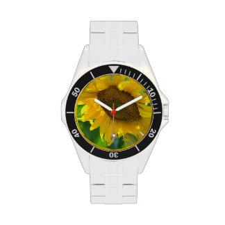 Sunflower Plant Wrist Watch