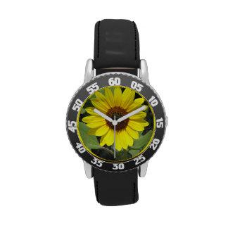 Sunflower Plant Wristwatch