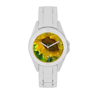 Sunflower Plant Wristwatches