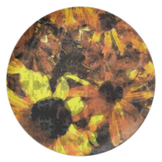 Sunflower Party Plates