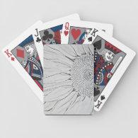 Sunflower Poker Deck