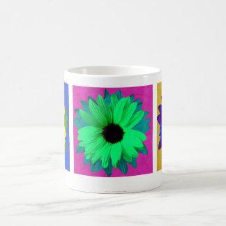 Sunflower Pop Art Triptych - Mug