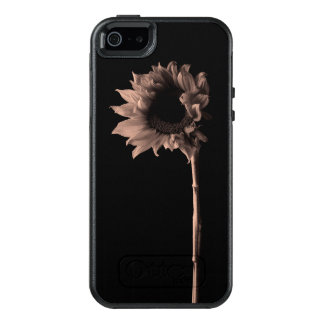 Sunflower Portrait - Sepia Fine Art Photograph OtterBox iPhone 5/5s/SE Case