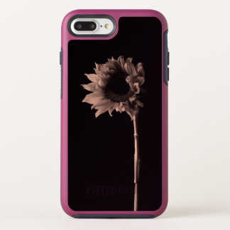 Sunflower Portrait - Sepia Fine Art Photograph OtterBox Symmetry iPhone 8 Plus/7 Plus Case
