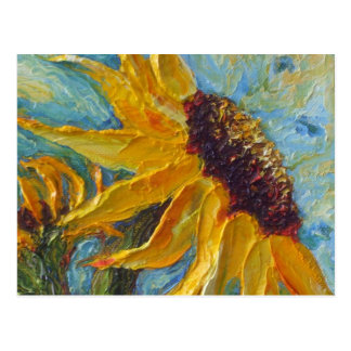 Sunflower Post Card