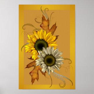 Sunflower Poster Print