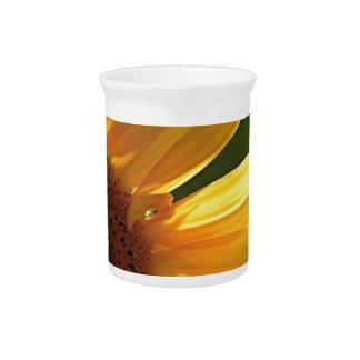 Sunflower Power! Beverage Pitcher