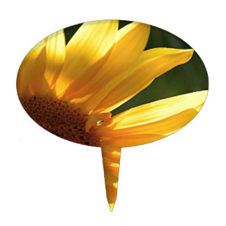 Sunflower Power! Cake Toppers