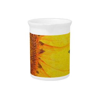 Sunflower Power Drink Pitcher