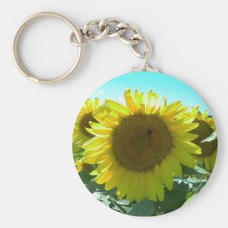 Sunflower Power--Keychain Keychain