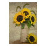 Sunflower Power Posters