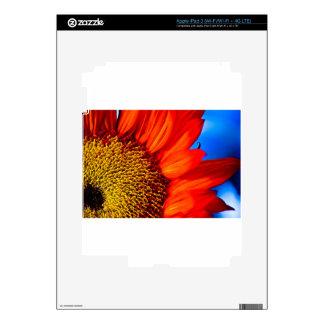 Sunflower Power Decals For iPad 3