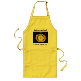 sunflower prange, Solterra Chef,  Caroline Vau... Long Apron