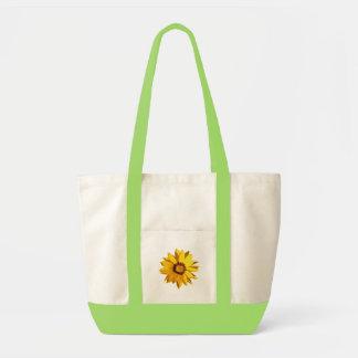 Sunflower Print Canvas Bags