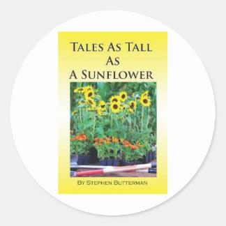 Sunflower Products Classic Round Sticker