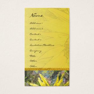Sunflower Profile Card