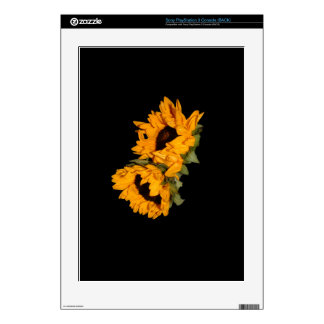 Sunflower PS3 Console Skin