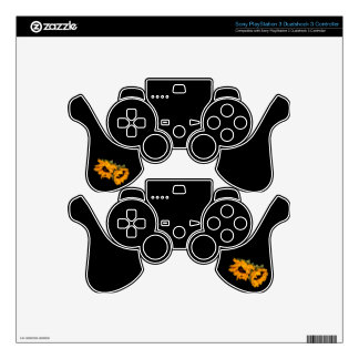 Sunflower PS3 Controller Skins