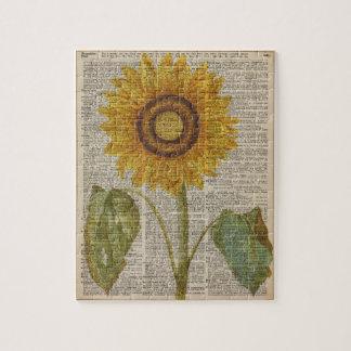 Sunflower Jigsaw Puzzles