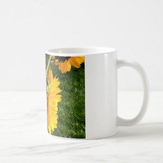 Sunflower Radiance Classic White Coffee Mug
