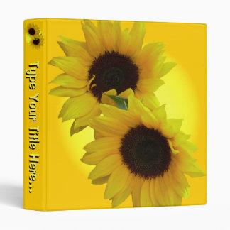 Sunflower Recipe Book - Flavorites Recipe Book 3 Ring Binder