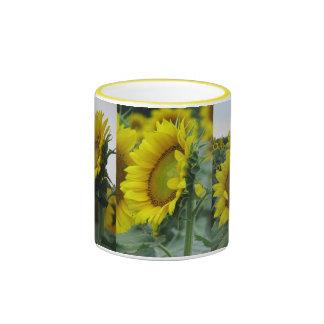 Sunflower Remix Ringer Mug