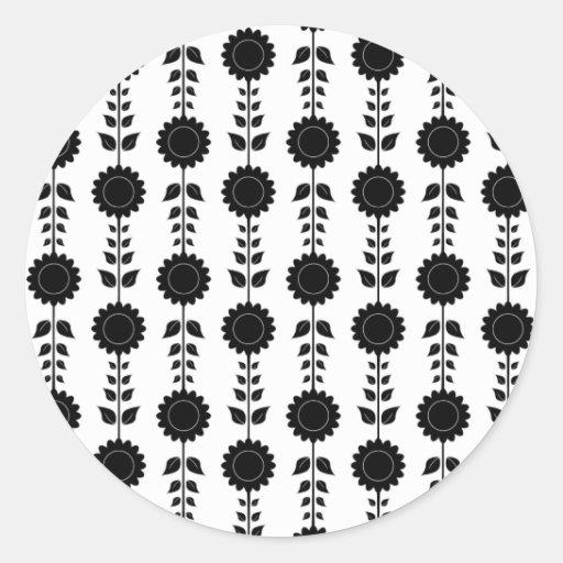 Sunflower Repeat Sticker Sheet