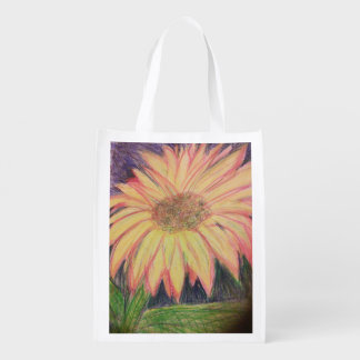 Sunflower reusable bag