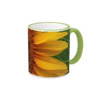 Sunflower Ringer Coffee Mug