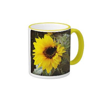 Sunflower Ringer Mug