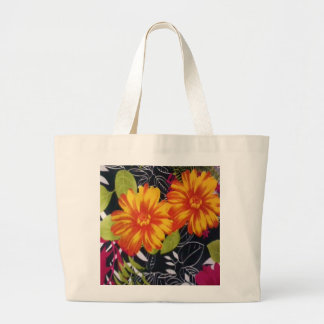 sunflower riot jumbo tote bag