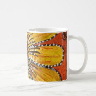sunflower riot coffee mug
