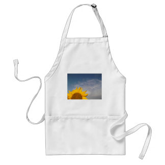 Sunflower rising like the sun adult apron