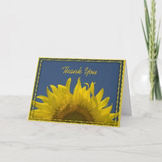 Sunflower Rising Wedding Bridesmaid Thank You