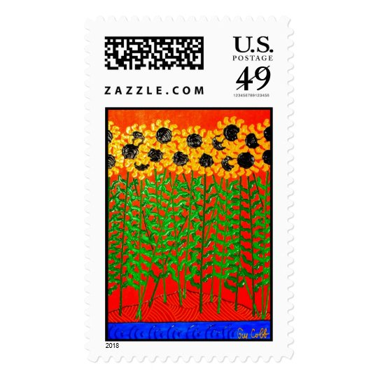 Sunflower River Blues Postage