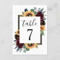 Wedding Tabletop Signs<