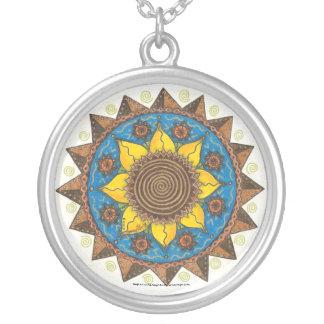 Sunflower Round Necklace