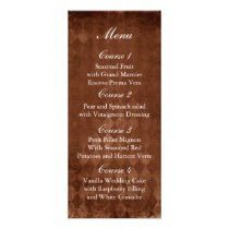 sunflower rustic mason jar wedding menu