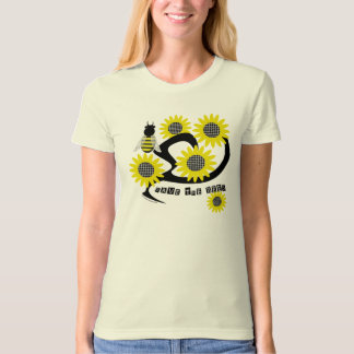 Sunflower Save the Bees tee