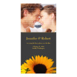 Sunflower Save the Date Photo Card