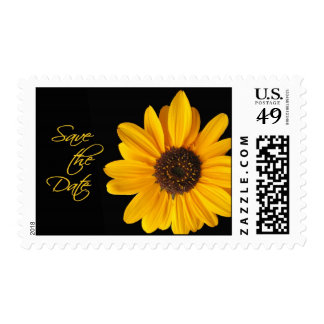 Sunflower-Save the Date Postage